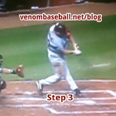 "Kevin ""Crazy stance"" Youkilis pic shows that even with a crazy looking stance, as he gathers his mechanics in preparation to rotate, he still looks exactly like everyone else in the blog in their Step 3 Position...Every player has their own unique stance where they have the most comfort and confidence. For more hitting tips and pics, www.venombaseball.net/blog"