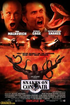 31 Awesome Movies Made by Mashing Up Bad Ones #ConAir #SnakesOnAPlane