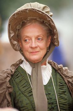 Maggie Smith as Betsey Trotwood, David Copperfield, BBC, 1999