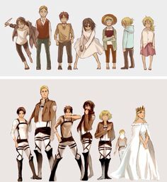 From children to heroes.. Not really in Annie's case