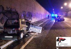 Benevento, incidente in via Vittime di Nassirya: un 40enne in prognosi riservata
