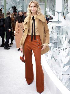 Elena Perminova in Chanel