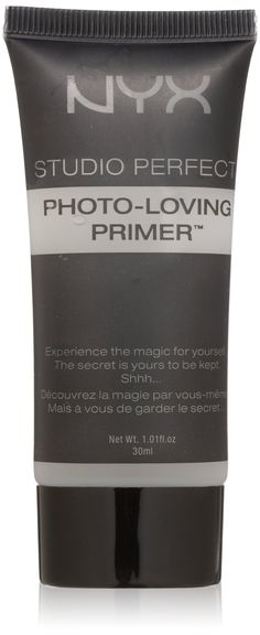 NYX Studio Perfect Primer, Clear, 1.0 oz/30ml - dupe for Smashbox primer