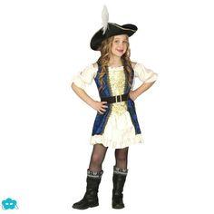 671e555e4d8 Disfraz de pirata corsaria para niña Disfraces Originales