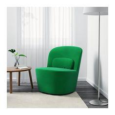 STOCKHOLM Krzesło obrotowe - Sandbacka zielony - IKEA