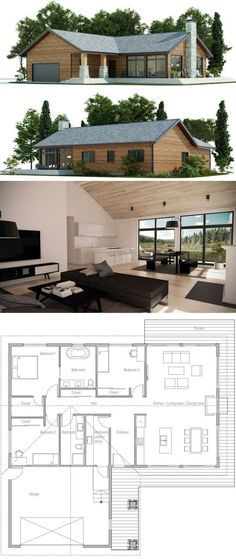 Nice house layout with open concept
