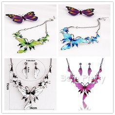 $3.62 Vogue Ear Studs & Necklace Bright Crystal Earring & Necklace - BornPrettyStore.com