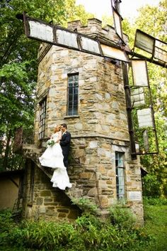 Cloisters Castle, Lutherville, MD. Fairytale Maryland Wedding Ceremony