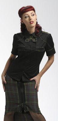 Lip Service black blouse