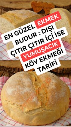 Bread Recipes, Cooking Recipes, Healthy Recipes, Good Food, Yummy Food, Tasty, Gluten Free Oats, Turkish Recipes, How To Make Bread
