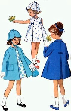 1960s Vintage Sewing Pattern Simplicity 5337 Girls by sandritocat, $13.00