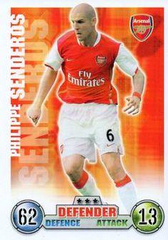 2007-08 Topps Premier League Match Attax #6 Philippe Senderos Front