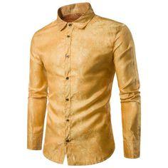 Turndown Collar Paisley Vintage Shirt