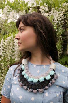 Stephanie Ellen: Stephanie Ellen News… The Secret Garden Collection Textile Design, Crochet Necklace, Textiles, News, Garden, Collection, Fashion, Moda, Garten