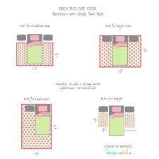 Image Result For How To Place A Rug In A Bedroom Twin Bed Against