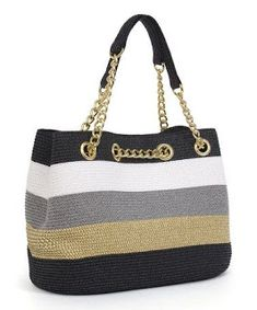 Let this beach-worthy shoulder bag take the load. With enough room for all the necessities and chic style to boot, this is one style-savvy way to carry the goodAnother great find on Black & Toast Chain Shoulder BagNew Cheap Bags. Mode Crochet, Bead Crochet, Crochet Handbags, Crochet Purses, Diy Sac, Crochet Backpack, Cheap Bags, Fabric Bags, Chain Shoulder Bag