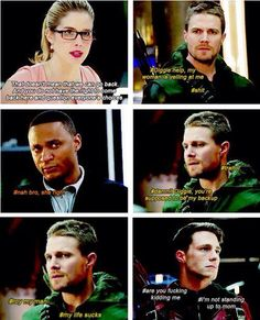 lol #OlicityFun <3 #Arrow