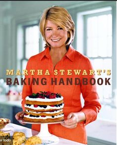 """Read """"Martha Stewart's Baking Handbook"""" by Martha Stewart available from Rakuten Kobo. Every new book from Martha Stewart is cause for celebration, and with Martha Stewart's Baking Handbook, she returns to b. Martha Stewart, Double Chocolate Brownies, Chocolate Glaze, Chefs, Baking Cookbooks, Marble Cake, Specialty Cakes, Cook Books, Buy Books"""