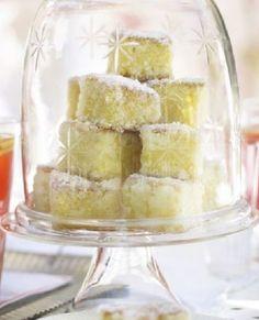 Low FODMAP Recipe and Gluten & lactose free Recipe - Lemon sponge squares http://www.ibssano.com/low_fodmap_deserts_lemon_sponge_squares.html
