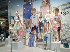 Primark Kids Window Stratford July 2016