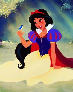 Princess Jasmine as Snow White, Aladdin / Snow White and the Seven Dwarfs artwork by Dylan Bonner. Disney Fan Art, Disney Love, Disney Magic, Disney Artwork, Disney Stuff, Disney Jasmine, Disney And Dreamworks, Disney Pixar, Walt Disney