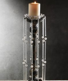Crystal & Pearl Hanging Bobeche by Save On Crafts #zulily #zulilyfinds