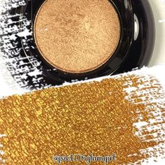 This is the Lancome eye shadow Golden Amande and swatch so you can see why it is a must have. One swipe. Gorgeous. Go.  Go get it.  #lancome #lancomemakeup #luxe #makeup #beauty #eyeshadow #cosmetics