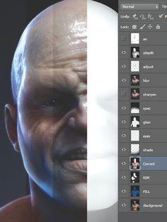Rendering skin in ZBrush | 3D Artist - Animation, Models, Inspiration & Advice | 3DArtist Magazine