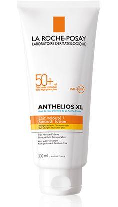 La Roche-Posay  ANTHELIOS XL FPS 50+: Pieles sensibles propensas a la intolerancia solar. Previene el melasma y la fotosensiblilidad provocada por los medicamentos.  Protección óptima SPF 50+ reforzada con sistema filtrante Mexoplex contra la radiación UVA.  Resistente al agua