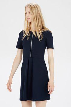 ZIP THROUGH POCKET DRESS