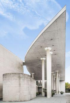 Kunstmuseum Bonn / Architekturfoto von Mark Wohlrab