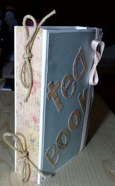 Tea Book!! Contenitore per bustine di tea ;)