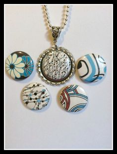 magnabilities.com.  Magnets change the look for a pendant.  To order:  http://anitagault.magnabilities.com/