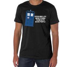Dr Who Tardis Tshirt Inspired by dr who tardis by DeepBlueCreek, $25.00