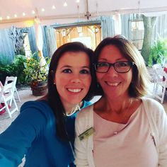 Wild Dunes Resort's awesome Conference Services Team - Jillian & Tracy - putting on a corporate group meeting at Boone Hall Plantation. #meetinthewild #charlestonsc #meetingprofs #events www.wilddunesmeetings.co