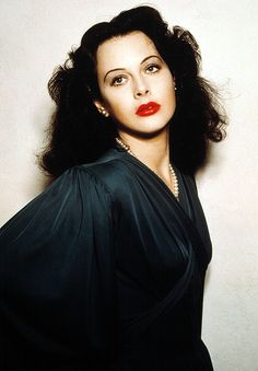 Hedy Lamarr held engineering patents for electrical devices. Who knew? She helped the US win WWII.