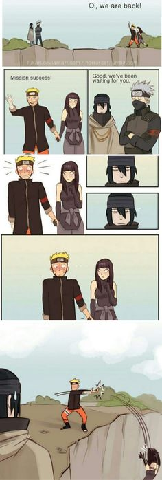 """Sorry Hinata, it's like they say: """"bros before hoes"""""""