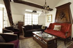 Old World Penthouse On Ile St. Louis, $966/Night   10 Paris Airbnb Rentals You Must Stay In Before You Die