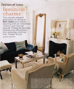 standing mirror on the side of the fireplace, x-bench in living room