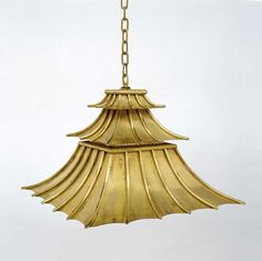 Charles Edward, Hanging Downturned Pagoda Shade Light HS 219. Cue longing sigh...