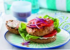 Turkey Burgers With Spicy Pickle Sauce