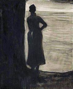 Léon Spilliaert - Attente . 1903