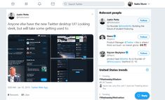 Have you been on Twitter lately? Did you experience Twitter's new layout? Well, here is the story. Twitter tested some sudden changes in the layout of an unknown sample of users. If your Twitter layout appears to be the same as yesterday, don't worry. The... The post Twitter Experimenting with the New Layout appeared first on Social Champ. New Twitter, Twitter Layouts, Going Crazy, Whats New, Social Media Marketing, News