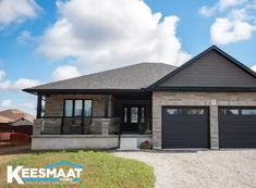 Video] View The Renne Model Home from Keesmaat Homes Check out our 360 video of Modern Bungalow House, Bungalow House Plans, Ranch House Plans, Cottage House Plans, Craftsman House Plans, Dream House Plans, Modern House Plans, Modern Bungalow Exterior, Bungalow Ideas