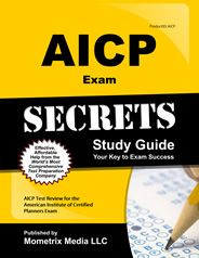 AICP Exam Secrets Study Guide- I haven't heard anything about this book but maybe worth a shot?  Hard copy and digital copy available