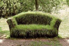 Grass Sofa, Daniel Spoerri from Contemporary Basketry