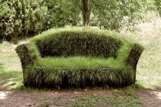 Grass Sofa, Daniel Spoerri from Contemporary Basketry