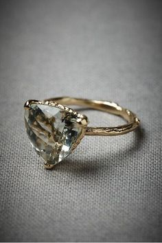 omg obsessed, this is not a diamond but I wonder if you can cut a diamond like this?
