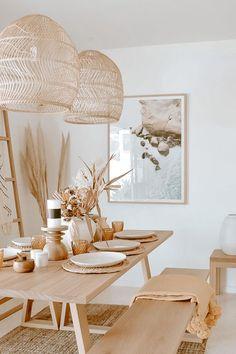 Home Living Room, Living Room Decor, Living Room Neutral, Beige Living Rooms, Cozy Living Rooms, Dining Room Design, Home Decor Kitchen, Kitchen Furniture, Home Decor Inspiration