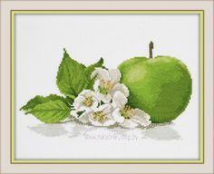 Набор для вышивки крестом Овен Яблочный аромат 671